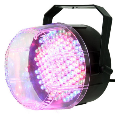 Stroboscop tricolor, 112 LED-uri, reglaj sensibilitate foto