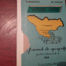 MANUAL DE GEOGRAFIE PENTRU CLASA A III-A  JUDETUL TIMIS
