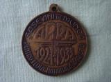 Medalie 6 ani de Munca Flota Aeriana ARPA 1927-1933 - Carol II