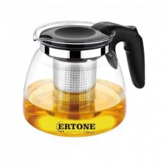 Ceainic din sticlă termorezistentă cu infuzor, 1100 ml