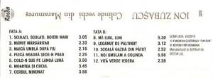 Caseta Ion Zubașcu – Colinde Vechi Din Maramureș, originala