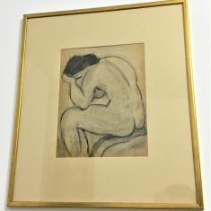 Pictura Tablou Virgiliu Corneliu Medrea ,,Nud''