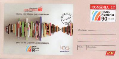 Targul Gaudeamus, Carti, intreg postal necirculat 2018 foto