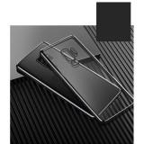 Husa de telefon ultra-subtire, din TPU moale, placata, transparenta, pentru Samsung