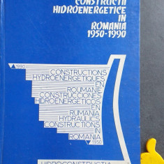 Constructii hidroenergetice in Romania 1950-1990