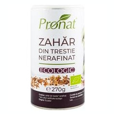 Zahar din Trestie Nerafinat Bio 270gr Pronat Cod: PRN20210