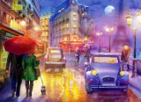 Puzzle Anatolian - Lilia: Paris at night 1000 piese