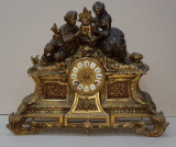 Ceas de semineu din bronz