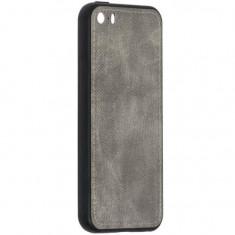Cumpara ieftin Husa Apple Iphone 5 Iphone 5s Forcell Denim Gri