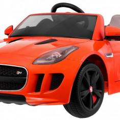 Masinuta electrica Jaguar F-Type, portocaliu
