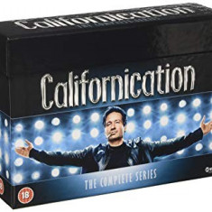 Film Serial Californication DVD BoxSet Complete Collection, Comedie, Engleza, columbia pictures