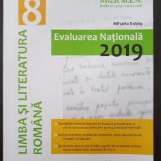 EVALUAREA NATIONALA 2019 LIMBA SI LITERATURA ROMANA CLASA A VIII-A Mihaela Dobos