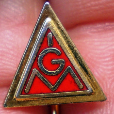 I.783 INSIGNA STICKPIN GERMANIA IGM IG METALL h10mm email