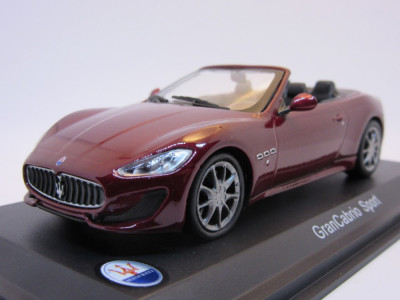 Macheta Maserati GranCabrio Sport Whitebox 1:43 foto