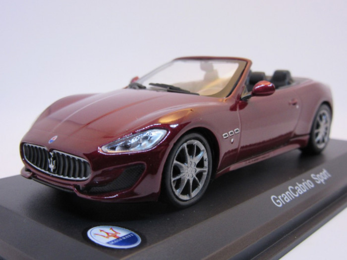 Macheta Maserati GranCabrio Sport Whitebox 1:43