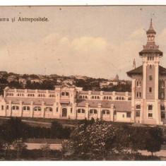 SV * Romania  IASI  *  VAMA  si  ANTREPOSITELE  *  1910 (?), Circulata, Printata