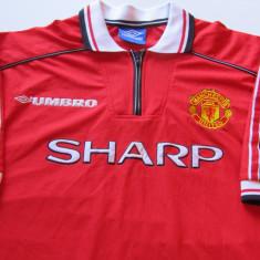 Tricou fotbal (vechi-perioada 1998-2000) - MANCHESTER UNITED