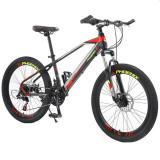 "Bicicleta Mountain Bike cadru 13"", 21 viteze, roti 20 inch, schimbator Shimano, frana disc, suspensii furca cu blocare, Phoenix"