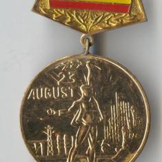 Medalie decoratie 23 August 1944-1984 - Romania RSR - Ceausescu