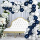 Set 123 baloane si accesorii pentru petrecere, aniversare tip arcada, Oem