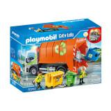 Set de joaca Playmobil City Life, Camion De Reciclat
