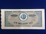 Bancnote România - 1000000 lei 1947 - seria 0882G.1065 (starea care se vede)
