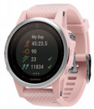 Ceas activity outdoor tracker Garmin Fenix 5S Sapphire Edition, GPS, HR (Roz)