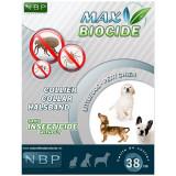 MAX BIOCIDE zgardă antiparazitară pentru câinii mici - 38 cm