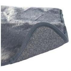 Covoraș thermo pentru câini , de culoare gri - 75 x 70 cm