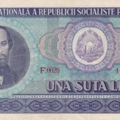 BANCNOTA 100 O SUTA LEI 1966
