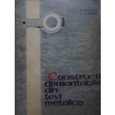CONSTRUCTII DEMONTABILE DIN TEVI METALICE - H. CANTEA
