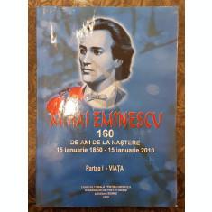 MIHAI EMINESCU - 160 DE ANI DE LA NASTERE - VICTOR CRACIUN