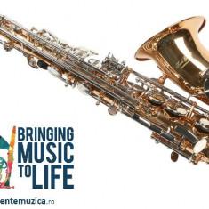 Saxofon Alt Eb(Mi bemol) Karl Glaser AURIU+ARGINTIU alto Saxophone Germania