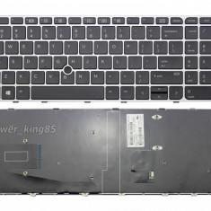 Tastatura HP EliteBook 819899-001 US cu mouse pointer