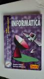 INFORMATICA CLASA A IX A - PROFIL MATEMATICA INFORMATICA PATRUT ,MILOSESCU TEORA