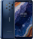 Telefon Mobil Nokia 9 PureView, Procesor Octa-Core 2.8 / 1.7GHz, P-OLED Capacitive touchscreen 5.99inch, 6GB RAM, 128GB Flash, 5 x 12 MP, Wi-Fi, 4G, D