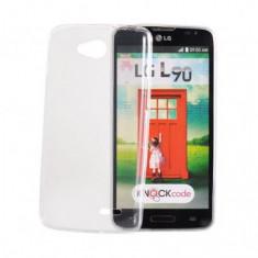 Husa Silicon Ultra Slim LG L50 Transparent