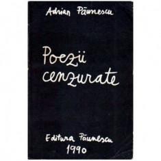 Poezii cenzurate 22 august 1968 - 22 decembrie 1989