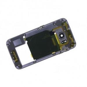 Carcasa mijloc Samsung Galaxy S6 edge G925 Originala Aurie