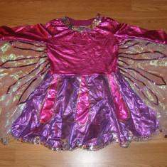 Costum carnaval serbare fluture fluturas pentru copii de 4-5 ani, Din imagine