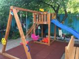 Loc de joaca copii si terasa Blue69Cafe
