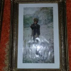 Rama/Rame tablou vechi,tablouri Vechi,stare conform foto,T.gratuit,de colectie, Scene gen, Ulei, Altul