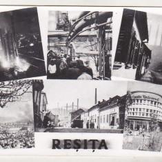 Bnk cp Resita - Vedere - uzata, Circulata, Printata