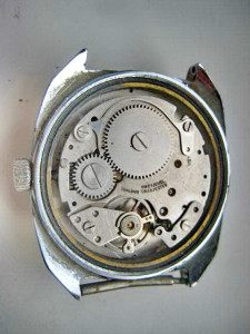 4805-Ceas mana barbat vechi CONCERTA POTOMAC calendar-Swiss made.