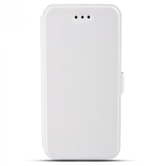 Husa SAMSUNG Galaxy S6 Edge - Pocket (Alb)
