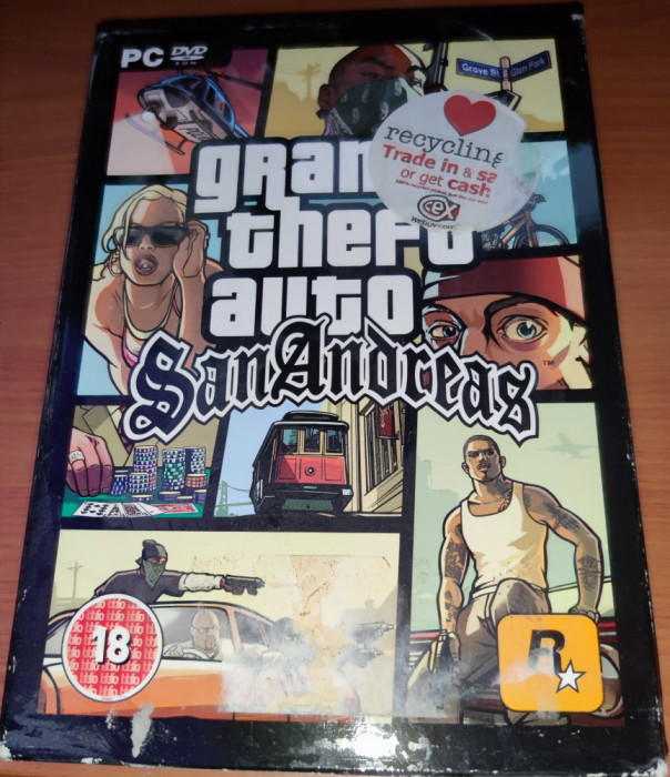 Grand Theft Auto San Andreas, GTA, PC, original, alte sute de titluri