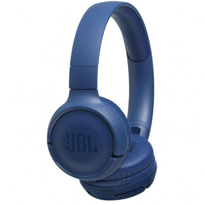 Casti audio On-ear JBL Tune 500BT, Wireless, Pure Bass Sound, Hands-free Call, 16H, Albastru foto