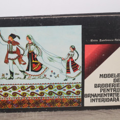 Modele de broderie pentru ornamentatie interioara - ELVIRA ZAMFIRESCU TALIANU
