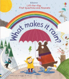 What makes it rain - Usborne book (3+)