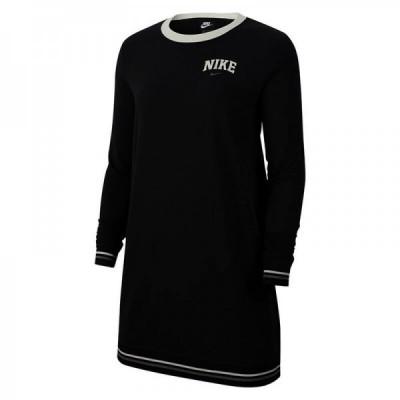 ROCHIE Nike W NSW DRESS LS FLC VRSTY foto